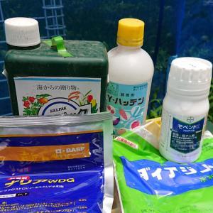 【第9回 消毒】 桃、りんご、梨・・・ ☆ネクタリン、ぶどうを除く果樹全般 7月10日