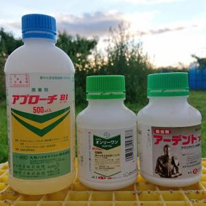 【除袋後の散布】 桃・・・ ☆川中島白桃が対象 8月3日