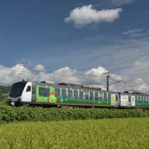 撮り鉄 篠ノ井線 「リゾートビューふるさと」など・・・ ☆稲荷山駅近く、姨捨駅近くで撮影しました。