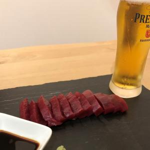 【宅飲み研究】生本まぐろ、カンタン切って盛るだけ料亭の味!!