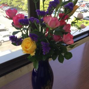 ありがたいお花。。。