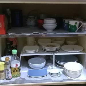【手放したもの】食器を減らせば食器棚も食洗機もいらない