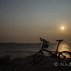 2020非常事態宣言:チャリで夕陽を見に行く毎日