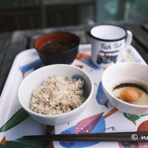 今朝のバンセンと朝食