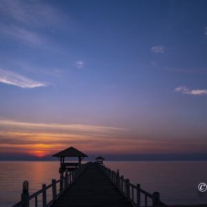 写真散歩:夕陽の沈む時間 2021年1月20日
