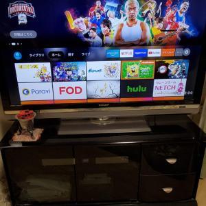 10年前のテレビがFire TV Stick(2021)で蘇り、動画ストリーミングも快適