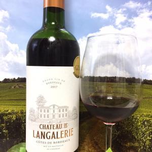 Château de Langalerie 2017 Côtes de Bordeaux