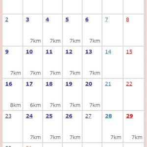 今日は大晦日 12月の走行距離 並びに年間走行距離