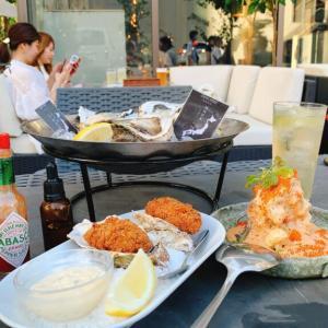 WHARF@大阪/梅田~夏の屋外テラスで牡蠣三昧~