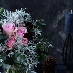 〔レッスンご報告〕クリスマスのブーケ|花のある日常