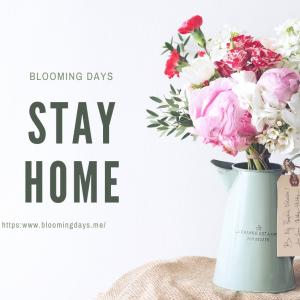 おうち時間を大切に|花のある日常