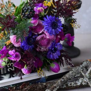 アレンジメントの為の色合わせ3つのポイント|花のある日常