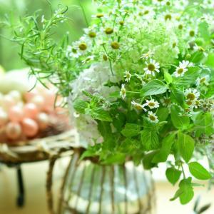【レッスンリポート】人気のカフェでミニブーケレッスン|花のある日常