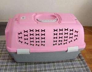 ピンクのキャリーケージが届きました🎵💕