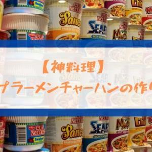 【 神料理 】カップラーメンチャーハンの作り方【10分でできる】