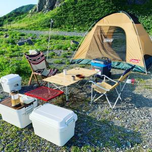 初心者が快適にキャンプする為に購入したキャンプ道具一式【 7選 】