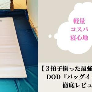 【 最強ローコット 】DODのバッグインベッドは3拍子揃ったローコット【寝心地も◎】