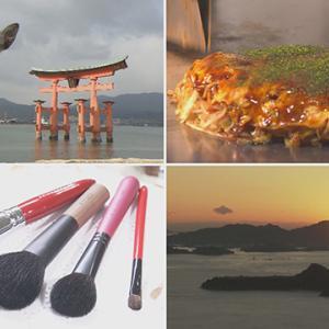 【あさイチ】広島県のイカ天や『熊野筆のメーク方法』を紹介