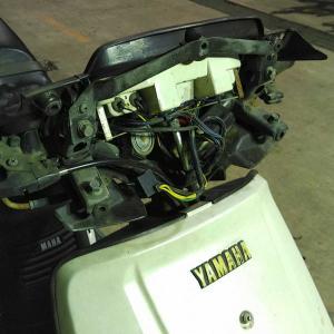 初代シグナス125 50V レストアその3
