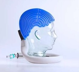 抗がん剤治療による影響で脱毛しにくくする医療機器がある