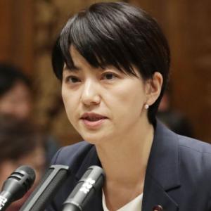安倍首相に難癖をつけた立憲の「石垣のりこ氏」が謝罪
