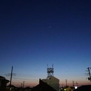 4月5日の金星とスバルの接近