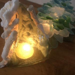 サンゴのランプ