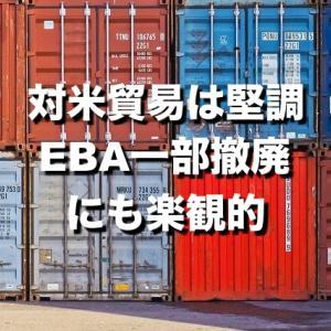 【カンボジア経済】米国との二国間貿易は堅調。今後は新たしい市場を開拓へ