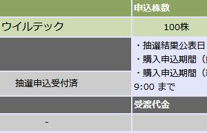 【IPO】微妙な2つのIPOとカーブス
