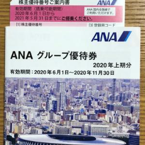 【優待到着】ガンバレ!ANA! と 夢優待