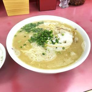 【長浜ラーメン 三川店】大分市三川の産業道路沿いある歴史ありそうな大衆ラーメン。
