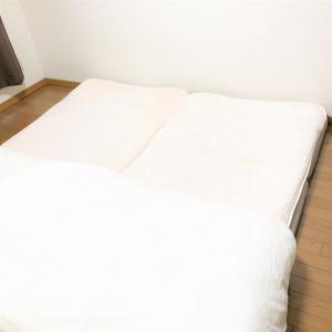 【狭い賃貸にこどもと住む】寝室はベットか布団か。