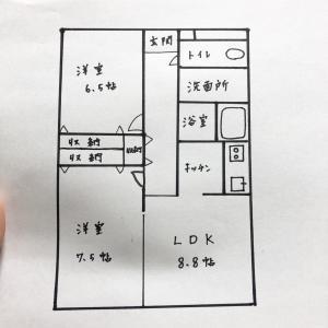 新居も狭賃貸!55平米で子供と3人暮らしします。