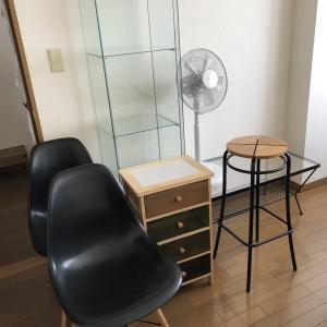 *家具を大量に断捨離【狭くてもスッキリしたお部屋にするために】