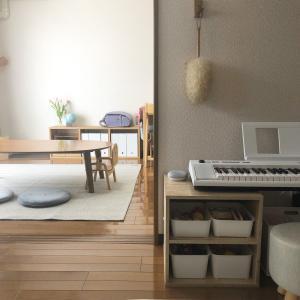 狭くてもスッキリさせたい【55平米賃貸暮らし】のこども部屋。