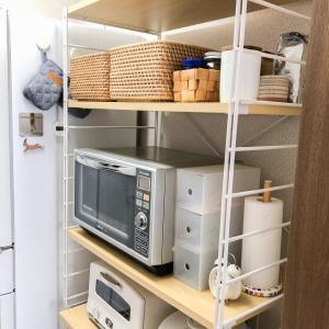 狭い賃貸のキッチン収納【食洗機も置いています】