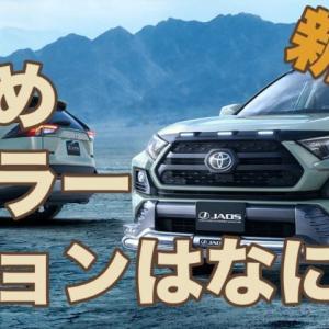 新型RAV4購入時のディーラーオプションのおすすめって?!
