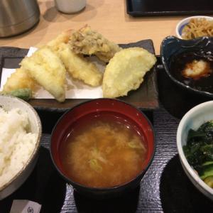 イオンモール成田店1Fの天ぷら屋さん「日本橋からり」でランチ