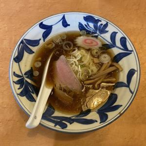 浦安市東野 オーケーストア前のラーメン店「倉一廊」煮干し中華麺セット