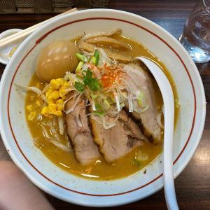 市川駅南口の人気ラーメン店「あけどや」オススメ!?の味噌らー麺は味変もあり最後まで美味い!