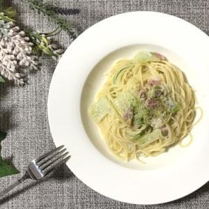 おうちでできるプロの味!しらすと白菜、ベーコンのオイルソースパスタ