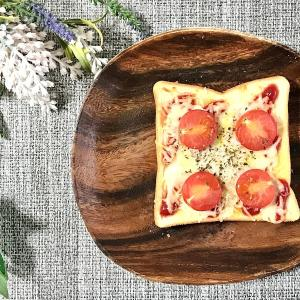簡単美味しい!しらすとトマトのピザ風トーストの作り方