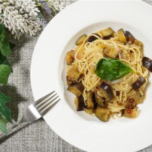 ナスと玉ねぎのペペロンチーノの作り方・レシピ
