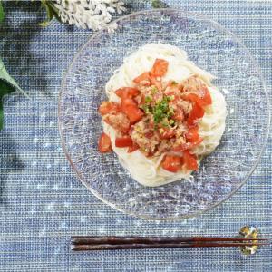 冷たくて美味しい!トマトとツナのさっぱりそうめんの作り方・レシピ