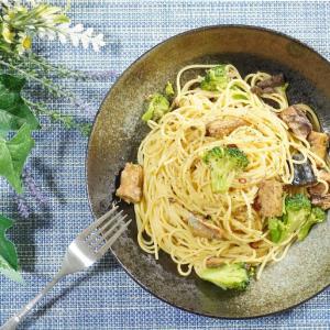 手軽に美味しい!鯖缶とブロッコリーのパスタの作り方・レシピ