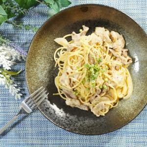 冷蔵庫にあるもので簡単美味しい!豚肉と玉ねぎの味噌マヨパスタの作り方・レシピ