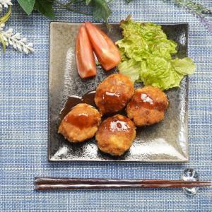 簡単美味しい一口とんかつ!チーズ入り豚こまカツの作り方・レシピ