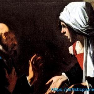 自分ならどうしたと思うか?ペンショナンテ・デル・サラチェーニ作「聖ペテロの否認」|伊勢丹美術館「アイルランド国立美術館名品展」より