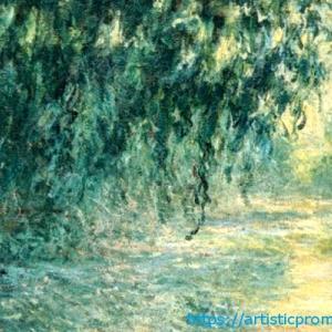 世界一美しい雨の風景?クロード・モネ作「セーヌ河の朝、雨」|ブリジストン美術館「モネ展」より