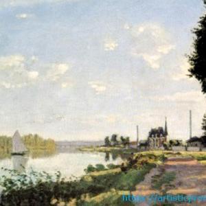 当時、一番印象に残った作品!クロード・モネ作「アルジャントゥイユの散歩道」|ブリジストン美術館「モネ展」より